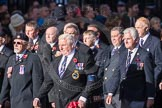 March Past, Remembrance Sunday at the Cenotaph 2016: E06 HMS Andromeda Association. Cenotaph, Whitehall, London SW1, London, Greater London, United Kingdom, on 13 November 2016 at 13:04, image #1678