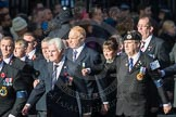 March Past, Remembrance Sunday at the Cenotaph 2016: E07 HMS Argonaut Association. Cenotaph, Whitehall, London SW1, London, Greater London, United Kingdom, on 13 November 2016 at 13:04, image #1679