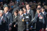 March Past, Remembrance Sunday at the Cenotaph 2016: E07 HMS Argonaut Association. Cenotaph, Whitehall, London SW1, London, Greater London, United Kingdom, on 13 November 2016 at 13:04, image #1680