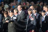 March Past, Remembrance Sunday at the Cenotaph 2016: E08 HMS Cumberland. Cenotaph, Whitehall, London SW1, London, Greater London, United Kingdom, on 13 November 2016 at 13:04, image #1681