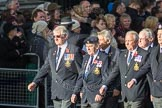 March Past, Remembrance Sunday at the Cenotaph 2016: E09 HMS Ganges Association. Cenotaph, Whitehall, London SW1, London, Greater London, United Kingdom, on 13 November 2016 at 13:04, image #1692
