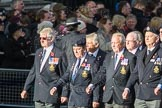 March Past, Remembrance Sunday at the Cenotaph 2016: E09 HMS Ganges Association. Cenotaph, Whitehall, London SW1, London, Greater London, United Kingdom, on 13 November 2016 at 13:04, image #1693