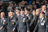March Past, Remembrance Sunday at the Cenotaph 2016: E09 HMS Ganges Association. Cenotaph, Whitehall, London SW1, London, Greater London, United Kingdom, on 13 November 2016 at 13:04, image #1697