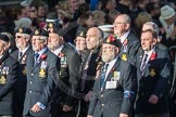 March Past, Remembrance Sunday at the Cenotaph 2016: E09 HMS Ganges Association. Cenotaph, Whitehall, London SW1, London, Greater London, United Kingdom, on 13 November 2016 at 13:04, image #1698