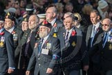 March Past, Remembrance Sunday at the Cenotaph 2016: E09 HMS Ganges Association. Cenotaph, Whitehall, London SW1, London, Greater London, United Kingdom, on 13 November 2016 at 13:04, image #1699