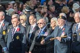 March Past, Remembrance Sunday at the Cenotaph 2016: E09 HMS Ganges Association. Cenotaph, Whitehall, London SW1, London, Greater London, United Kingdom, on 13 November 2016 at 13:04, image #1702
