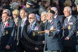 March Past, Remembrance Sunday at the Cenotaph 2016: E09 HMS Ganges Association. Cenotaph, Whitehall, London SW1, London, Greater London, United Kingdom, on 13 November 2016 at 13:04, image #1703