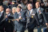 March Past, Remembrance Sunday at the Cenotaph 2016: E09 HMS Ganges Association. Cenotaph, Whitehall, London SW1, London, Greater London, United Kingdom, on 13 November 2016 at 13:04, image #1704