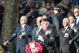 March Past, Remembrance Sunday at the Cenotaph 2016: E10 HMS Glasgow Association. Cenotaph, Whitehall, London SW1, London, Greater London, United Kingdom, on 13 November 2016 at 13:05, image #1711