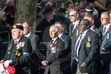 March Past, Remembrance Sunday at the Cenotaph 2016: E10 HMS Glasgow Association. Cenotaph, Whitehall, London SW1, London, Greater London, United Kingdom, on 13 November 2016 at 13:05, image #1713