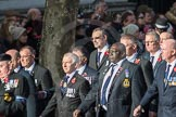 March Past, Remembrance Sunday at the Cenotaph 2016: E10 HMS Glasgow Association. Cenotaph, Whitehall, London SW1, London, Greater London, United Kingdom, on 13 November 2016 at 13:05, image #1714