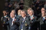 March Past, Remembrance Sunday at the Cenotaph 2016: E10 HMS Glasgow Association. Cenotaph, Whitehall, London SW1, London, Greater London, United Kingdom, on 13 November 2016 at 13:05, image #1717