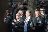March Past, Remembrance Sunday at the Cenotaph 2016: E10 HMS Glasgow Association. Cenotaph, Whitehall, London SW1, London, Greater London, United Kingdom, on 13 November 2016 at 13:05, image #1719