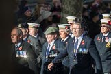 March Past, Remembrance Sunday at the Cenotaph 2016: E11 HMS St Vincent Association. Cenotaph, Whitehall, London SW1, London, Greater London, United Kingdom, on 13 November 2016 at 13:05, image #1721