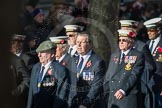 March Past, Remembrance Sunday at the Cenotaph 2016: E11 HMS St Vincent Association. Cenotaph, Whitehall, London SW1, London, Greater London, United Kingdom, on 13 November 2016 at 13:05, image #1722