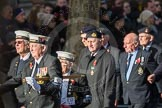 March Past, Remembrance Sunday at the Cenotaph 2016: E12 HMS Tiger Association. Cenotaph, Whitehall, London SW1, London, Greater London, United Kingdom, on 13 November 2016 at 13:05, image #1728