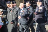 March Past, Remembrance Sunday at the Cenotaph 2016: E12 HMS Tiger Association. Cenotaph, Whitehall, London SW1, London, Greater London, United Kingdom, on 13 November 2016 at 13:05, image #1729