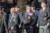 March Past, Remembrance Sunday at the Cenotaph 2016: E13 Algerines Association. Cenotaph, Whitehall, London SW1, London, Greater London, United Kingdom, on 13 November 2016 at 13:05, image #1730