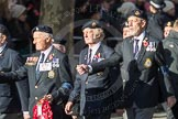 March Past, Remembrance Sunday at the Cenotaph 2016: E14 Ton Class Association. Cenotaph, Whitehall, London SW1, London, Greater London, United Kingdom, on 13 November 2016 at 13:05, image #1734