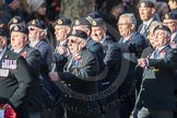 March Past, Remembrance Sunday at the Cenotaph 2016: E15 Type 42 Association. Cenotaph, Whitehall, London SW1, London, Greater London, United Kingdom, on 13 November 2016 at 13:05, image #1744