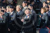 March Past, Remembrance Sunday at the Cenotaph 2016: E15 Type 42 Association. Cenotaph, Whitehall, London SW1, London, Greater London, United Kingdom, on 13 November 2016 at 13:05, image #1746
