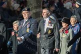 March Past, Remembrance Sunday at the Cenotaph 2016: E15 Type 42 Association. Cenotaph, Whitehall, London SW1, London, Greater London, United Kingdom, on 13 November 2016 at 13:05, image #1753