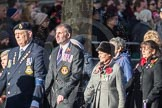 March Past, Remembrance Sunday at the Cenotaph 2016: E16 Queen Alexandra's Royal Naval Nursing Service. Cenotaph, Whitehall, London SW1, London, Greater London, United Kingdom, on 13 November 2016 at 13:05, image #1754