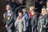 March Past, Remembrance Sunday at the Cenotaph 2016: E16 Queen Alexandra's Royal Naval Nursing Service. Cenotaph, Whitehall, London SW1, London, Greater London, United Kingdom, on 13 November 2016 at 13:05, image #1756