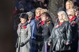 March Past, Remembrance Sunday at the Cenotaph 2016: E16 Queen Alexandra's Royal Naval Nursing Service. Cenotaph, Whitehall, London SW1, London, Greater London, United Kingdom, on 13 November 2016 at 13:05, image #1757