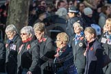March Past, Remembrance Sunday at the Cenotaph 2016: E17 Association of WRENS. Cenotaph, Whitehall, London SW1, London, Greater London, United Kingdom, on 13 November 2016 at 13:05, image #1762