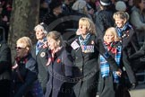 March Past, Remembrance Sunday at the Cenotaph 2016: E17 Association of WRENS. Cenotaph, Whitehall, London SW1, London, Greater London, United Kingdom, on 13 November 2016 at 13:05, image #1764