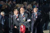 March Past, Remembrance Sunday at the Cenotaph 2016: E19 Royal Naval Communications Association. Cenotaph, Whitehall, London SW1, London, Greater London, United Kingdom, on 13 November 2016 at 13:06, image #1801