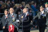 March Past, Remembrance Sunday at the Cenotaph 2016: E19 Royal Naval Communications Association. Cenotaph, Whitehall, London SW1, London, Greater London, United Kingdom, on 13 November 2016 at 13:06, image #1802