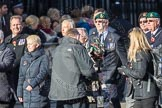 March Past, Remembrance Sunday at the Cenotaph 2016: E20 Royal Naval Medical Branch Ratings & Sick Berth Staff Association. Cenotaph, Whitehall, London SW1, London, Greater London, United Kingdom, on 13 November 2016 at 13:06, image #1807