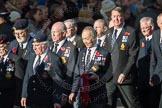 March Past, Remembrance Sunday at the Cenotaph 2016: E23 Submariners Association. Cenotaph, Whitehall, London SW1, London, Greater London, United Kingdom, on 13 November 2016 at 13:06, image #1841