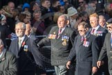 March Past, Remembrance Sunday at the Cenotaph 2016: E26 Aircraft Handlers Association. Cenotaph, Whitehall, London SW1, London, Greater London, United Kingdom, on 13 November 2016 at 13:06, image #1871