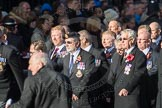 March Past, Remembrance Sunday at the Cenotaph 2016: E26 Aircraft Handlers Association. Cenotaph, Whitehall, London SW1, London, Greater London, United Kingdom, on 13 November 2016 at 13:06, image #1874