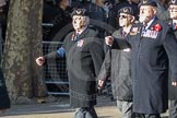 March Past, Remembrance Sunday at the Cenotaph 2016: E27 Aircrewmans Association. Cenotaph, Whitehall, London SW1, London, Greater London, United Kingdom, on 13 November 2016 at 13:07, image #1892
