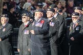 March Past, Remembrance Sunday at the Cenotaph 2016: E27 Aircrewmans Association. Cenotaph, Whitehall, London SW1, London, Greater London, United Kingdom, on 13 November 2016 at 13:07, image #1893