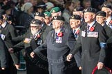 March Past, Remembrance Sunday at the Cenotaph 2016: E27 Aircrewmans Association. Cenotaph, Whitehall, London SW1, London, Greater London, United Kingdom, on 13 November 2016 at 13:07, image #1895