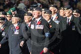 March Past, Remembrance Sunday at the Cenotaph 2016: E27 Aircrewmans Association. Cenotaph, Whitehall, London SW1, London, Greater London, United Kingdom, on 13 November 2016 at 13:07, image #1896