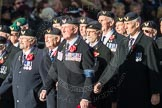 March Past, Remembrance Sunday at the Cenotaph 2016: E27 Aircrewmans Association. Cenotaph, Whitehall, London SW1, London, Greater London, United Kingdom, on 13 November 2016 at 13:07, image #1897