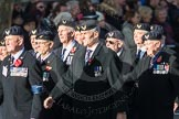 March Past, Remembrance Sunday at the Cenotaph 2016: E27 Aircrewmans Association. Cenotaph, Whitehall, London SW1, London, Greater London, United Kingdom, on 13 November 2016 at 13:07, image #1899