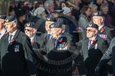 March Past, Remembrance Sunday at the Cenotaph 2016: E27 Aircrewmans Association. Cenotaph, Whitehall, London SW1, London, Greater London, United Kingdom, on 13 November 2016 at 13:07, image #1902
