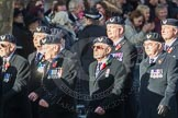 March Past, Remembrance Sunday at the Cenotaph 2016: E27 Aircrewmans Association. Cenotaph, Whitehall, London SW1, London, Greater London, United Kingdom, on 13 November 2016 at 13:07, image #1903