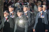 March Past, Remembrance Sunday at the Cenotaph 2016: E27 Aircrewmans Association. Cenotaph, Whitehall, London SW1, London, Greater London, United Kingdom, on 13 November 2016 at 13:07, image #1906