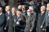 March Past, Remembrance Sunday at the Cenotaph 2016: E28 The Fisgard Association. Cenotaph, Whitehall, London SW1, London, Greater London, United Kingdom, on 13 November 2016 at 13:07, image #1912