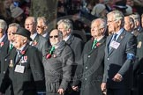 March Past, Remembrance Sunday at the Cenotaph 2016: E28 The Fisgard Association. Cenotaph, Whitehall, London SW1, London, Greater London, United Kingdom, on 13 November 2016 at 13:07, image #1913