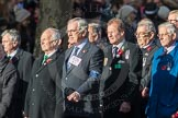 March Past, Remembrance Sunday at the Cenotaph 2016: E28 The Fisgard Association. Cenotaph, Whitehall, London SW1, London, Greater London, United Kingdom, on 13 November 2016 at 13:07, image #1915
