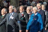 March Past, Remembrance Sunday at the Cenotaph 2016: E28 The Fisgard Association. Cenotaph, Whitehall, London SW1, London, Greater London, United Kingdom, on 13 November 2016 at 13:07, image #1916